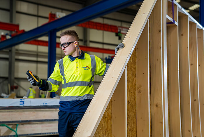 smartroof timber frame production f